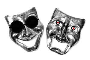 Comedy Tragedy masks - Symbolic represe