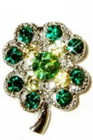 crystal shamrock