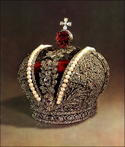 russian crown jewels