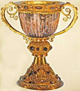 Chalice of Abbe Suger from the Abbey of SaintDenis