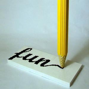 pencil fun
