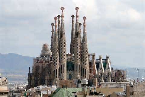 Temple Sagrada Familia (Barcelona, Spain)