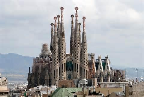 Temple Sagrada Familia (Barcelona, Spain)