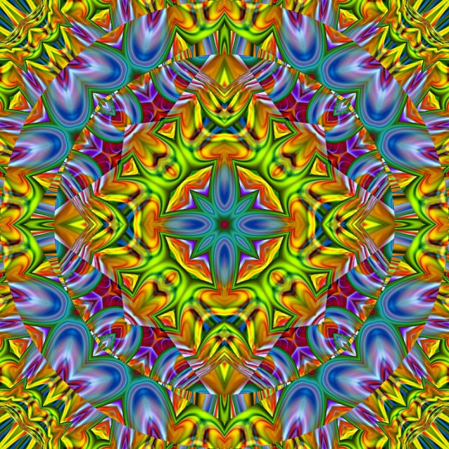Kaleidoscope_Dandelions_by_TastesLikePurple