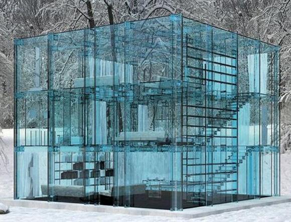 Unique-Glass-House-from-Carlo-Santambrogio-and-Ennio-Arosio3-580x444