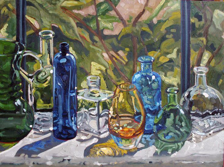 Sunday Evening Art Gallery — Janet Fish   Humoring the Goddess