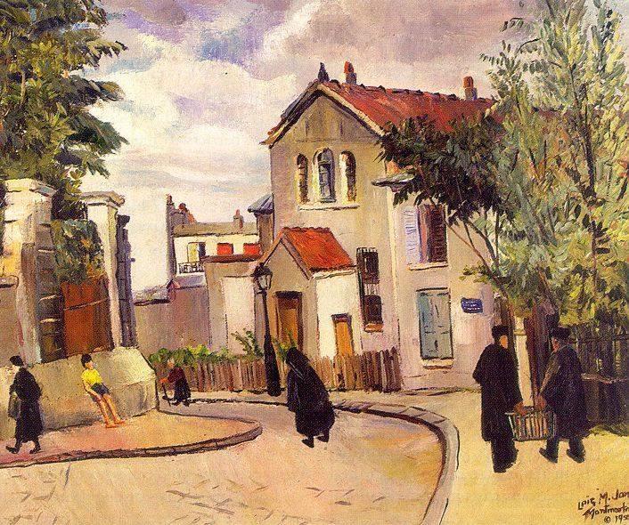 loismaioujonesLa Butte Montmartre 1950