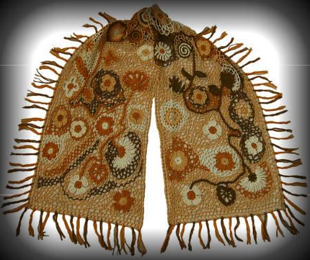 irish-lace-crochet-scarf